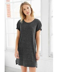 BDG | Gray Estelle Boyfriend T-shirt Dress | Lyst