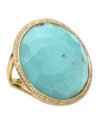 Ippolita - Metallic Turquoise Lollipop Ring - Lyst