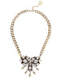Anton Heunis - Metallic Traudel Crystal-embellished Necklace - Lyst