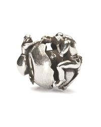Trollbeads | Metallic Holding On To Love Bead | Lyst