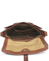 Lucky Brand | Brown Medine Leather Shoulder Bag | Lyst