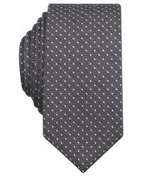 Original Penguin | Black Victorian Dot Skinny Tie for Men | Lyst