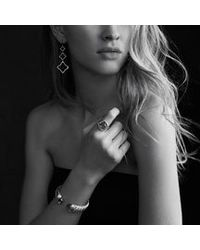 David Yurman | Metallic Infinity Ring with Prasiolite | Lyst