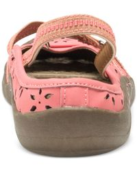 Muk Luks - Pink ® Erin Slingback Mary Jane Flats - Lyst