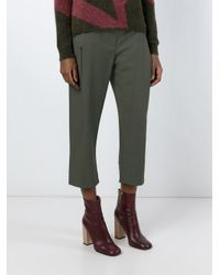 Christian Wijnants - Green 'pluta' Trousers - Lyst