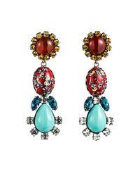 DANNIJO - Multicolor Eddie Earrings - Lyst