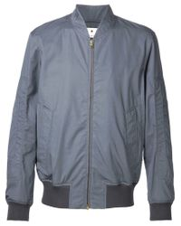 In Jacket For Marni Gray Lightweight Lyst Bomber Men wqHZxaAS1