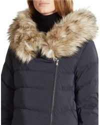 Ralph Lauren | Black Detachable-hood Down Coat | Lyst