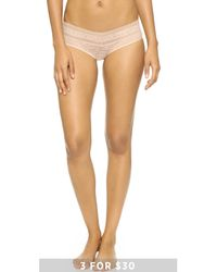 Calvin Klein | Pink Stretch Lace Hipster | Lyst