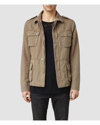 AllSaints | Natural Bayonet Jacket for Men | Lyst