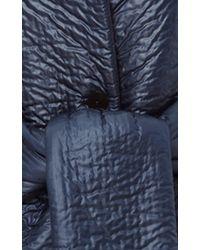 Cushnie et Ochs - Blue Quilted Coat With Sash - Lyst