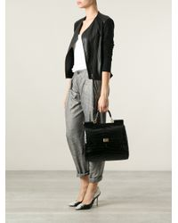 Dolce & Gabbana - Black Large Flat Sicily Bag - Lyst