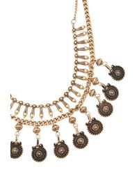 Forever 21 - Metallic -inspired Layered Necklace - Lyst