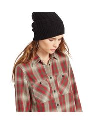 Denim & Supply Ralph Lauren | Brown Flannel Utility Shirt | Lyst