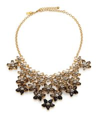 kate spade new york | Metallic Ombre Bouquet Statement Necklace | Lyst