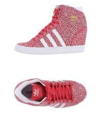 Adidas Originals - Brown High-tops & Trainers - Lyst