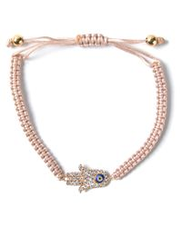 Aamaya By Priyanka | Natural Hamsa Hand Friendship Bracelet | Lyst