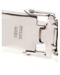 Eddie Borgo - Green Gemstone Pyramid Bracelet - Lyst