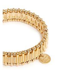 Philippe Audibert | Metallic Metal Bead Elastic Bracelet | Lyst
