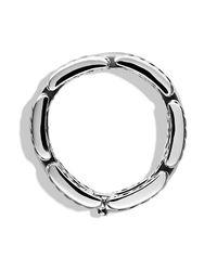 David Yurman - Metallic Cable Classics Three-row Bracelet - Lyst