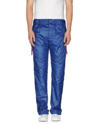 John Galliano - Blue Casual Trouser for Men - Lyst