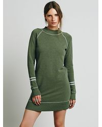 Free People | Green Womens Home Team Tunic | Lyst