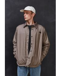 The North Face | Blue Fort Point Flannel Shirt Jacket for Men | Lyst