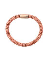Carolina Bucci - Pink Coral Twister Band Bracelet - Lyst