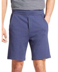 Saks Fifth Avenue - Blue Jersey Shorts for Men - Lyst