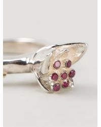 Rosa Maria | Red 'carys' Ring | Lyst
