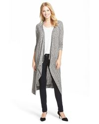 Gibson | Gray Cascade Front Duster | Lyst