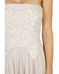 Coast - Natural Dylanna Maxi Dress - Lyst