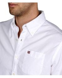 Napapijri | White Long Sleeve Shirt for Men | Lyst