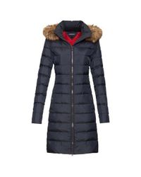 Tommy Hilfiger | Blue Tyra Down Coat | Lyst