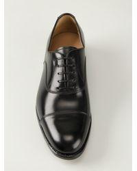 Ferragamo - Black Classic Oxford Shoes for Men - Lyst