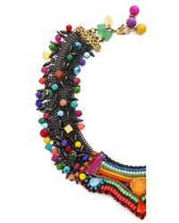Erickson Beamon | Metallic Fashion Tribe Necklace | Lyst