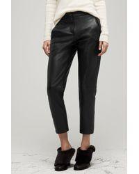 Rag & Bone - Black Em Pant Leather - Lyst