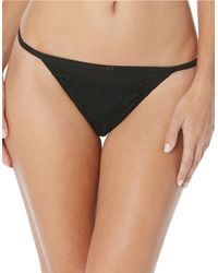 Jessica Simpson | Black Young And Beautiful Tanga Panties | Lyst