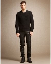 Belstaff | Black Woodhurst Jumper for Men | Lyst