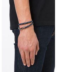 Tod's | Blue 'my Colours' Bracelet for Men | Lyst