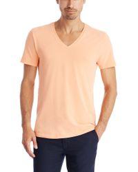 BOSS - Orange 'shirt Ssvn Piqué' | Stretch Cotton Blend T-shirt for Men - Lyst