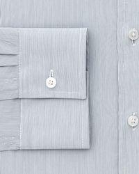 Thomas Pink - Blue Herland Stripe Slim Fit Dress Shirt for Men - Lyst