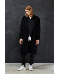 Assembly | Black Hooded Coat for Men | Lyst