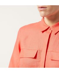 Hobbs | Red Gracie Shirt | Lyst
