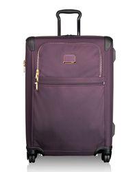 Tumi - Purple Alpha 2 Aubergine Short-trip Expandable 4-wheeled Packing Case for Men - Lyst