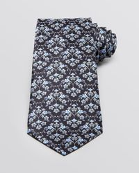 Valentino - Blue Floral Print Classic Tie for Men - Lyst