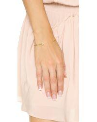Gorjana - Metallic Lucia Cuff Bracelet - Gold/clear - Lyst
