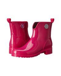 M Missoni - Purple Solid Rain Boot - Lyst