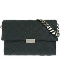 Stella McCartney | Green Beckett Quilted Over The Shoulder Handbag - For Women | Lyst
