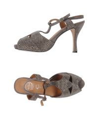Jeffrey Campbell | Gray Sandals | Lyst